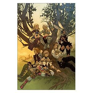 Final Fantasy. Размер: 20 х 30 см
